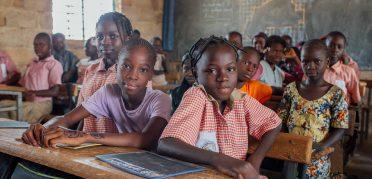 Anbau von drei Klassen der Schule in Tampouy